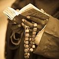 Man Holding Prayer Book Ethiopia by David DuChemin