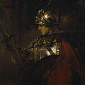 Man In Armor by Rembrandt van Rijn