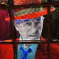 Man In Red Fedora by Ed Weidman