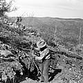 Man Mining Ore by Larry Ward
