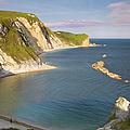 Man O' War Cove - Dorset by Brian Jannsen