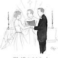 Man To Wife During Wedding Vows by Carolita Johnson