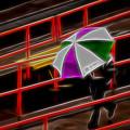 Man Under Umbrella by Maria Coulson