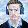 Man With Headphones by Fabrizio Cassetta