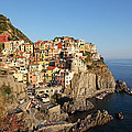 Manarola At Dusk by Susan Rovira