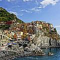 Manarola Italy Dsc02563  by Greg Kluempers