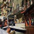 Manarola  Street - Cinque Terre by Dany Lison