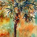 Manasota Key Palm 2 by Rebecca Zdybel