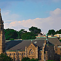 Manayunk - Saint John The Baptist Church by Bill Cannon
