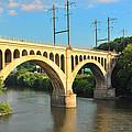 Manayunk Stone Arch Bridge by Bill Cannon