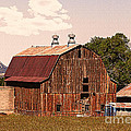 Mancos Colorado Barn by Janice Pariza
