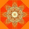 Mandala 014-2 by Maria Urso