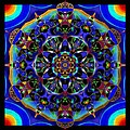 Mandala 2 by Wolfgang Schweizer