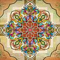 Mandala Birds Sp by Bedros Awak
