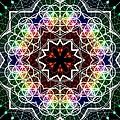 Mandala Cage Of Light by Derek Gedney