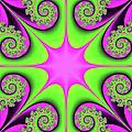 Mandala Cheerful by Gabiw Art