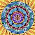 Mandala Wormhole 101 by Derek Gedney