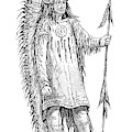 Mandan Indian Chief by British Library