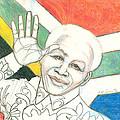 Mandela's Blooming Shirt by Kippax Williams