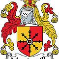 Mandeville Coat Of Arms Irish by Heraldry