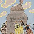 Mandoline by Georges Barbier