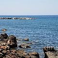 Mandraki Coastline Nisyros by David Fowler