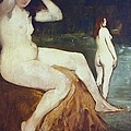 Manet, �douard 1832-1883. Bathers by Everett