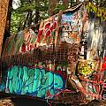 Mangled Whistler Train Wreck Box Car by Adam Jewell