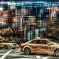 Manhattan - Yellow Cabs - Future by Hannes Cmarits