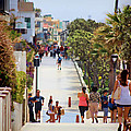 Manhattan Beach Boardwalk by RJ Aguilar