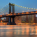 Manhattan Bridge I by Clarence Holmes