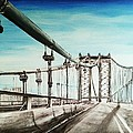 Manhattan Bridge by Irving Starr