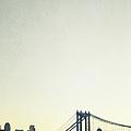 Manhattan Bridge by Margie Hurwich