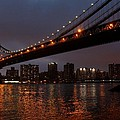 Manhattan Bridge by Mary Ann Teschan