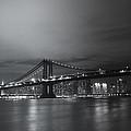 Manhattan Bridge - New York City by Vivienne Gucwa