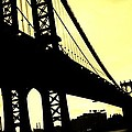 Manhattan Bridge by Paulo Guimaraes