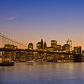 Manhattan Brooklyn Bridge by Melanie Viola