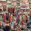 Manhattan Sunrise by Edmund Nagele