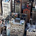 Manhattan From Above by Jannis Werner