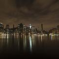 Manhattan Night View by Boris Blyumberg
