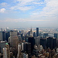 Manhattan Overview by Christiane Schulze Art And Photography