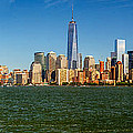 Manhattan Panoramic by Nick Zelinsky