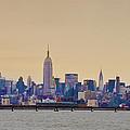 Manhattan Skyline by Bill Cannon