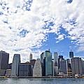Manhattan Skyline by Galexa Ch