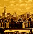 Manhattan Skyline by Monique's Fine Art