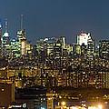 Manhattan Skyline, New York City, New by Panoramic Images