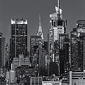 Manhattan Twilight Ix by Clarence Holmes