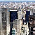 Manhattan View Uptown by Jannis Werner