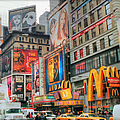 Manhattan's Theater District by Dyle   Warren
