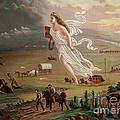 Manifest Destiny 1873 by Photo Researchers
